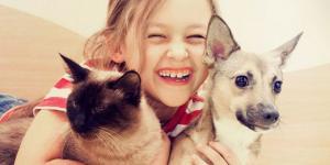 Evcil hayvanlar çocuklara empati kurmayı öğretiyor…