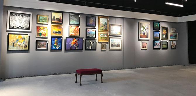 Ankara'nın bir konut projesi içinde yer alan ilk sanat galerisi İncek Loft'ta açıldı…