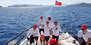 Nissan Yelken Takımı denize çıktı…