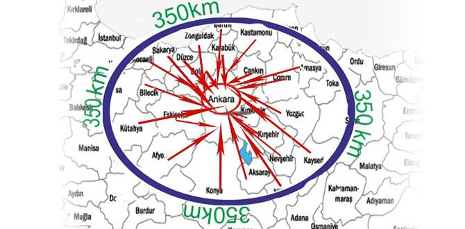23 ilin yatırım adresi Ankara…