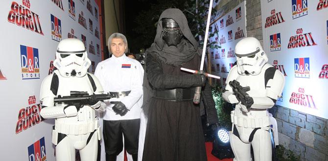 Star Wars hayranları, D&R'larda artırılmış gerçeklikle '#GücüBul'du…