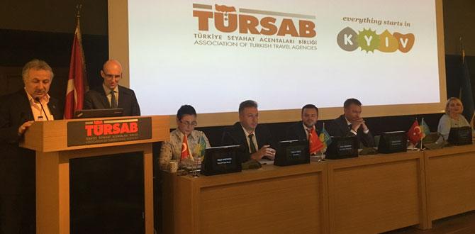 TÜRSAB, Türkiye'yi dünyaya tanıtıyor…