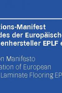 The EPLF Innovation Manifesto – An offensive campaign for European laminate quality