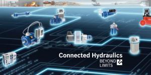 Bosch Rexroth, Connected Hydraulic Sistemlerle Sanayi 4.0'a hazır…