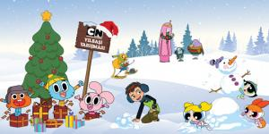 Cartoon Network'ten çocuklara yılbaşı sürprizi…