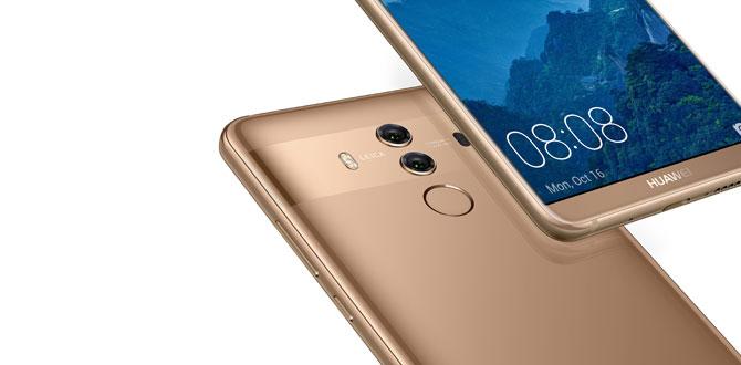 Huawei Mate 10 Pro 2017 yılının en beğenilen akıllı telefonu seçildi…