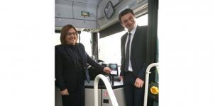 Toplu taşımada hızlı, basit ve güvenli ödeme Mastercard ile şimdi Gaziantep'te!