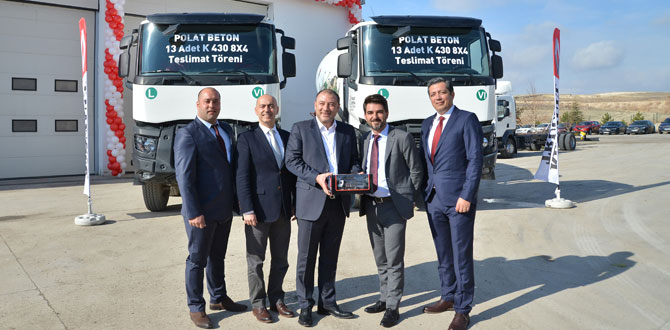 Renault Trucks K serisi, gücü ile hazır beton nakliyesinde…