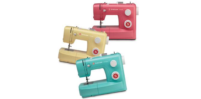 Singer'den yeni yıl sürprizi; Türkiye'de ilk kez rengarenk dikiş makineleri…