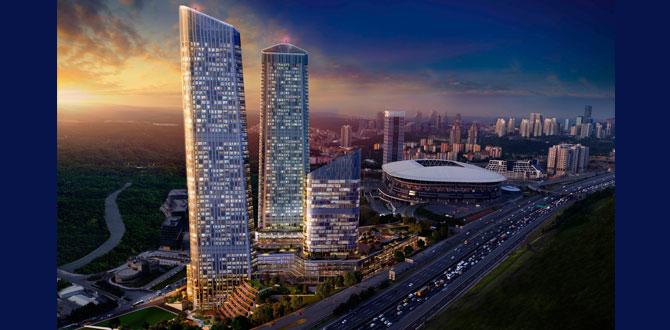 Skyland İstanbul'da rezidansların teslimleri başladı…