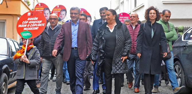 Temiz Sokak Projesi Üsküdar'da başladı…