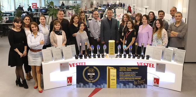 """Dünyanın en büyük inovasyon yarışmasından Vestel'e """"En Yenilikçi Marka"""" ödülü…"""