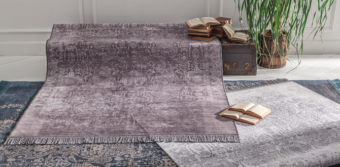 Evinizdeki şıklığı Enza Home'un halı koleksiyonları ile tamamlayın…