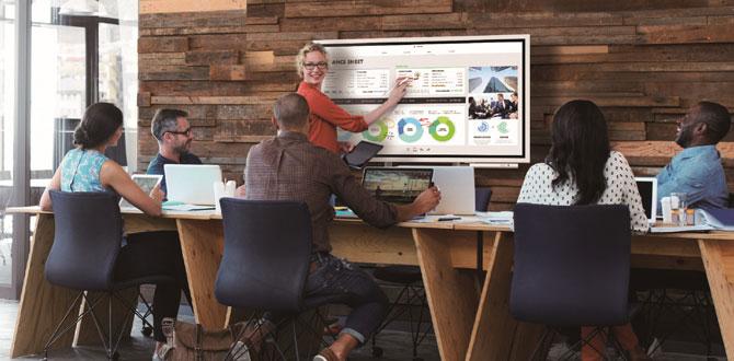 Samsung yeni interaktif dijital panosu Flip ile toplantı odalarını modernleştiriyor…