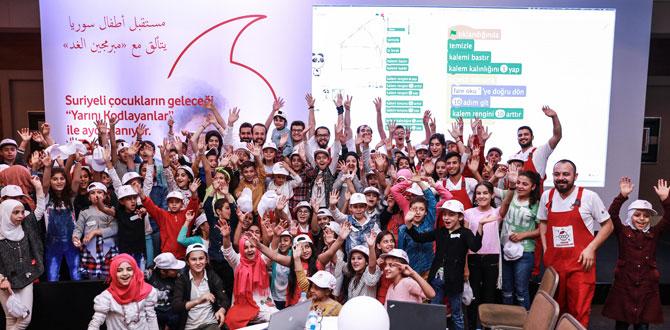 Vodafone'lular 2017'de dijitalleşmenin öncülerinden oldu…