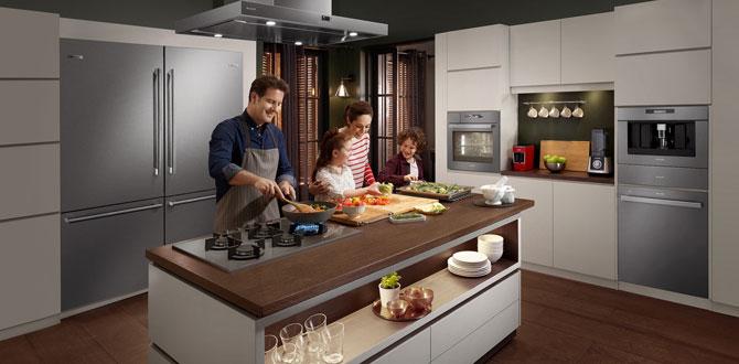Yeni Grion Ankastre Serisi ile en güzel anları mutfakta paylaşın…
