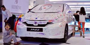 Çocuklar hayallerini Honda Jazz'a sığdırdı…