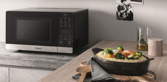 Hotpoint'ten son teknoloji yeni Chef Plus mikrodalga fırın