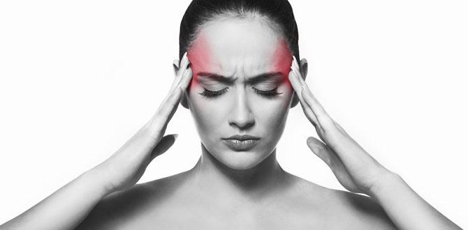 İlkbaharda ani ve şiddetli baş ağrısına dikkat!