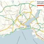 Yandex, yaptığı analizle İstanbul trafiğinin 3 yıllık röntgenini çekti…