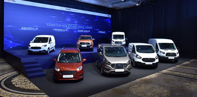 Ford ticari ailesinin en yeni üyeleri bir arada…