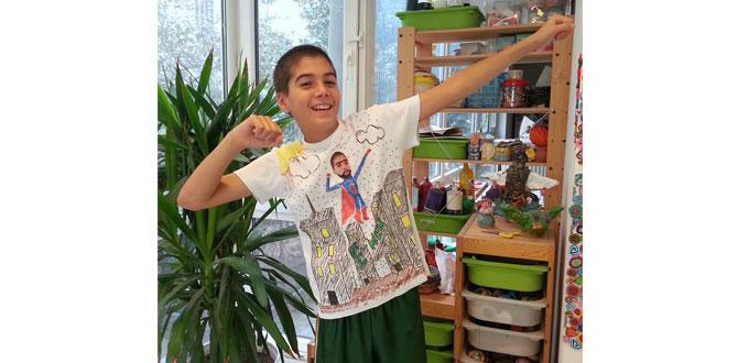 """Minikler ücretsiz """"T-shirt Boyama Aktivitesi""""yle rengarek dünyalarını sergileyecekler…"""