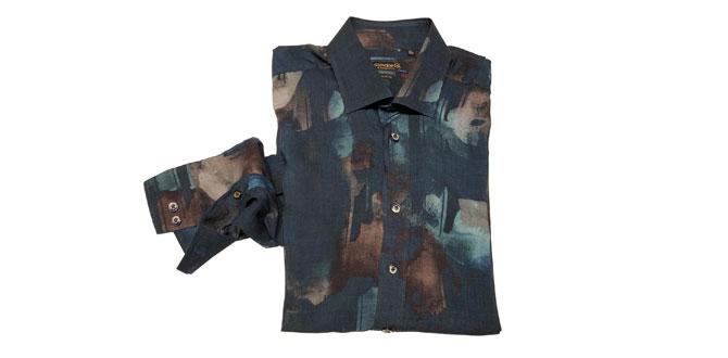 Giovane Gentile'den renkli gömlek şıklığı…