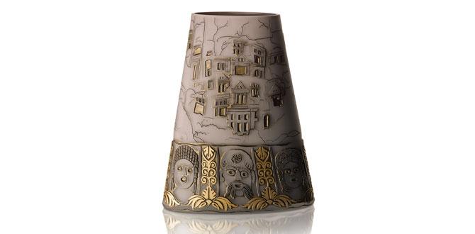 Camda dünya mirası koleksiyonundan Myra Antik Vazo…