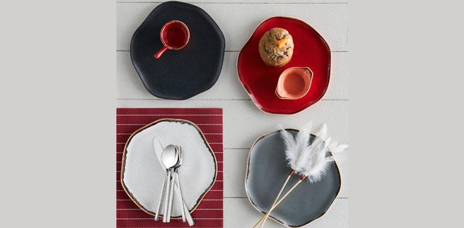 Porland Pure Seasons koleksiyonu, 4 farklı rengi ile yaz sofralarınıza şıklık getiriyor!