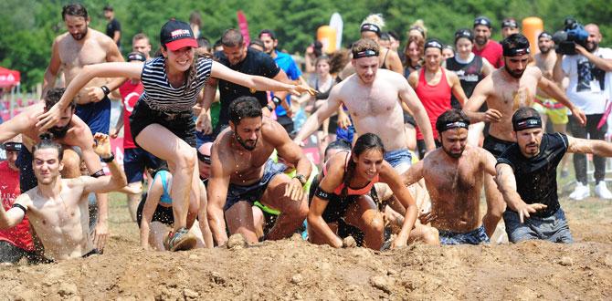 Reebok Mudrace'te 500'den fazla sporcu yarıştı!
