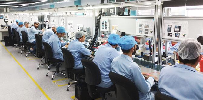 General Mobile'dan 100 milyon TL'lik yatırımla Türkiye'nin 'En Büyük Yerli'cep telefonu fabrikası…