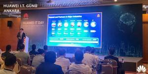 HUAWEI IT Bilişim Günü 2018Ankara'da gerçekleştirildi…