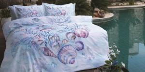 Özdilek'in mavi nevresimleriyle deniz ferahlığı yatak odalarında…