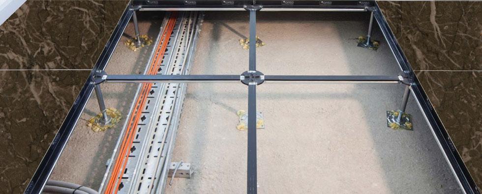 Silkar ve Unigen işbirliği ile gerçekleştirilen yükseltilmiş döşeme panellerin yüzeyi Akdolam ile tamamlanıyor…