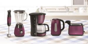 Hotpoint'in yeni küçük ev aletleri serisiyle hayal gücünün rengi mor mutfaklarda…