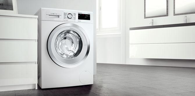 Bosch'un ActiveOxygen teknolojisi, çamaşırlarda maksimum hijyen sağlıyor…