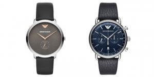Emporio Armani saatlerine modern görünüm…