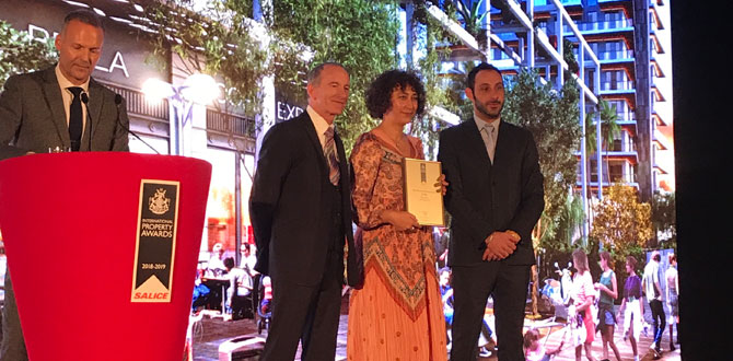 Avrupa'nın en iyi karma projesi ödülü Türkiye'ye…