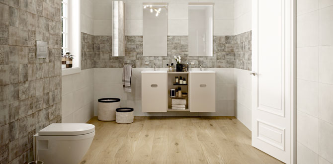 Kale'den küçük banyolar için tasarım tüyoları…