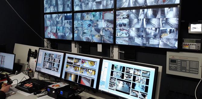 Bosch'tan alışveriş merkezleri için entegre güvenlik konsepti…