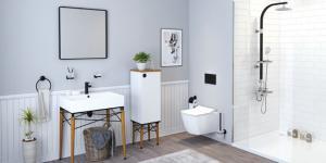 İskandinav stili Legno ile banyolarda…