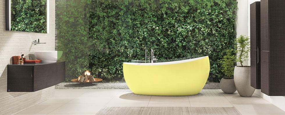 Banyoları renklendiren tasarımlar…