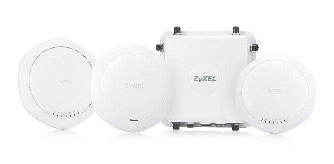 Zyxel'den altı yeni acces point…