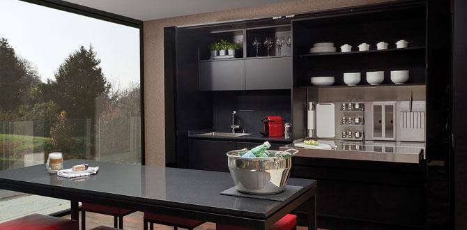 Tresette Mutfak alandan tasarruf sağlıyor…