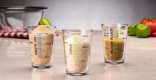 Paşabahçe'nin ölçü bardağı seti ile yemek yapmak artık daha pratik…