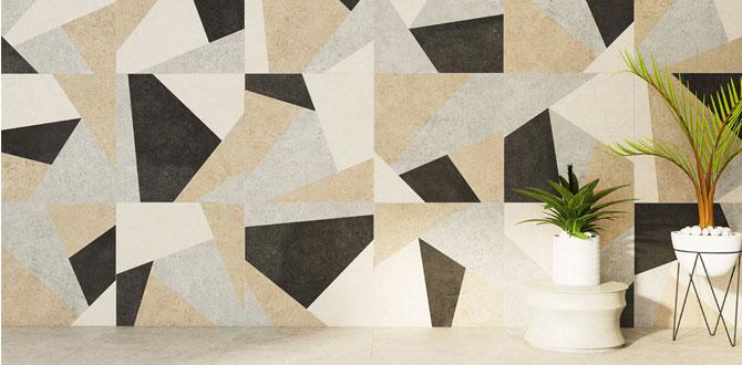 Mekanlarda yeni trend: Geometrik desenler