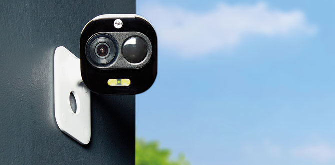 Evinizin güvenliği Yale'nin yeni kameralarına emanet!