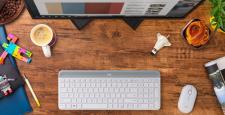 Logitech, MK470 Slim Combo kablosuz klavye ve mouse setini tanıttı…