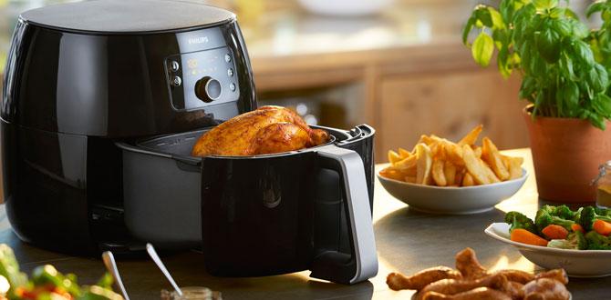 Philips Airfryer XXL ile sağlıklı yemekler hazırlamak çok kolay!