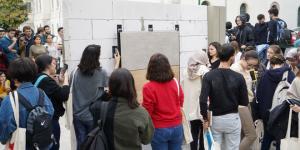 İTÜ'nün genç mimar adayları Kalebodur'la sahada uygulama yaptı…